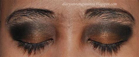 Eyeshadow Inez Hitam ladypon mua looxgiveaway tutorial eye make up flapper