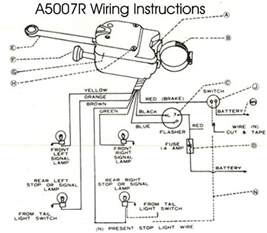 6 wire universal turn signal switch help needed with wiring c10 forum
