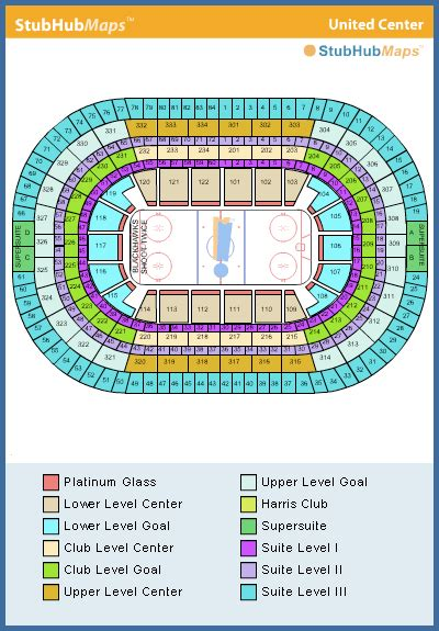 united center seating map united center seating chart pictures directions and history chicago blackhawks espn