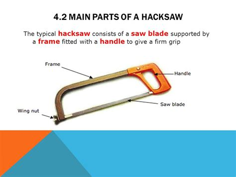 what are the two main sections of an html document module 4 hacksaws mechanical workshop ppt video online