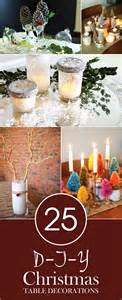 22 2015 no comments on 25 gorgeous diy christmas table decorations