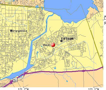 folsom ca map 95630 zip code folsom california profile homes html
