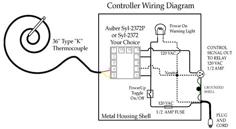 kiln controller wiring diagram 220 outlet wiring diagram