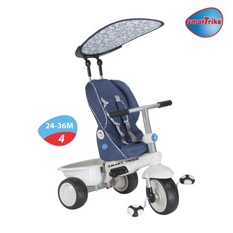 Smart Trike Recliner 4 In 1 by New Smart Trike Recliner Stroller 4 In 1 Smartrike Blue Baby Tricycle Ebay
