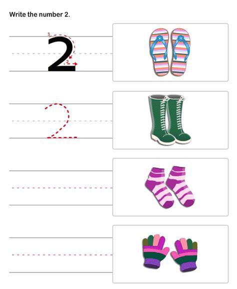 Pre K Writing Worksheets by Pre K Worksheets Number 2