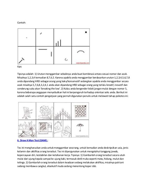 psikotes lengkap terkini contoh gambar wartegg test newhairstylesformen2014