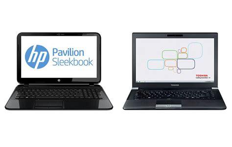 hp pavillion touchsmart sleekbook vs toshiba techra ebay