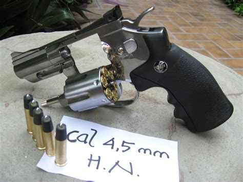 Airsoft Gun Revolver Mimis Airsoftgun Murah Revolver Mimis Pellet Cal 45mm 708 Wingun