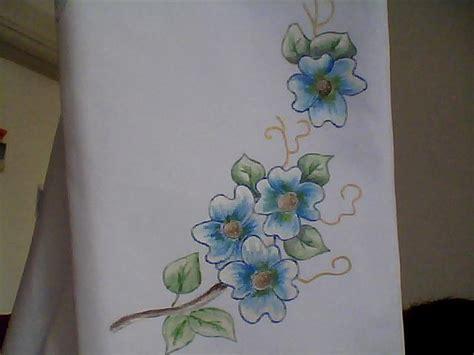 fiori da dipingere su stoffa pittura su stoffa spunti e creazioni