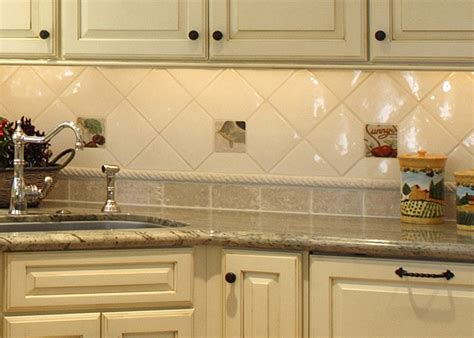 Backsplash Kitchen Design by Kitchen Backsplash Tile Design Idea