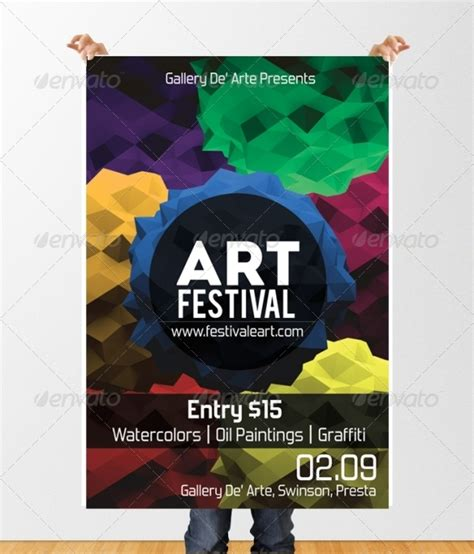 art festival flyer template by ingeniousartist graphicriver