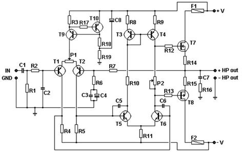 simple transistor guitar lifier 100w basic mosfet lifier circuit 187 circuits zone