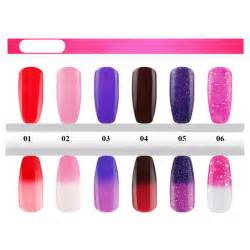 nail changes color 5 99 1 bottle 7 5ml thermal nail temperature color