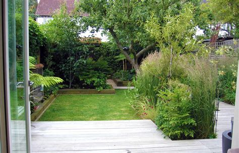 small gardens garden design for small garden with decking
