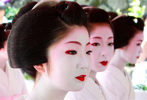 tutorial makeup geisha geisha makeup tutorial and pictures yve style