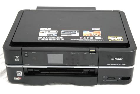 Printer Photo epson stylus photo printer px720wd inkjet printer review