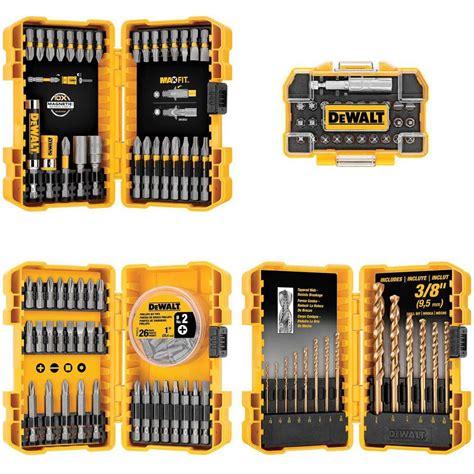 dewalt drill drive bit set 130 dwa4case130hd the