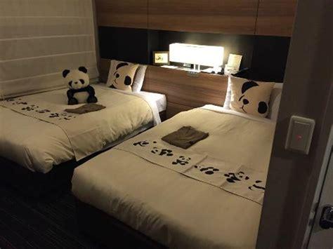 panda room 正面玄関 picture of mitsui garden hotel ueno taito tripadvisor
