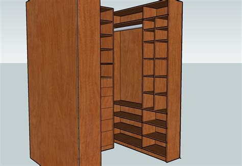 dowel joinery for closet shelf assembly