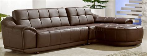 Chocolate Brown Sectional Sofa by Chocolate Brown Bonded Leather Modern Stylish Sectional Sofa