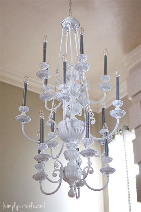 hanging a chandelier chandelier chic simply notable