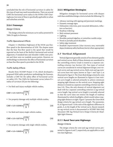 design criteria synonym section 2 design criteria traffic operational and