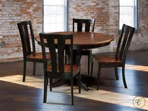 Amish Dining Room Set Bronte Transitional Dining Room Set Countryside Amish