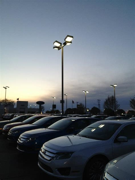 commercial parking lot lighting chapple electric