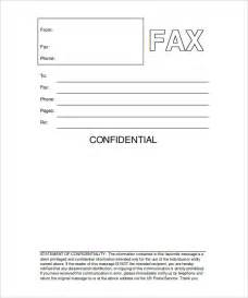 Template For Fax Cover Sheet by Printable Fax Cover Sheet 10 Free Word Pdf Documents