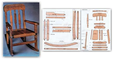 rocking chair design plans free rocking chair plans woodarchivist
