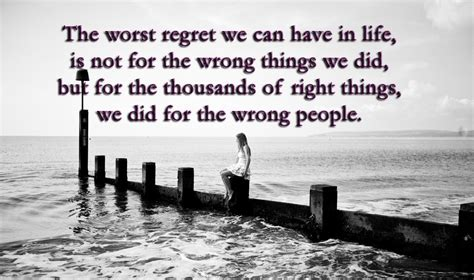 themes of the story regret the worst regret we can have in life pictures photos and