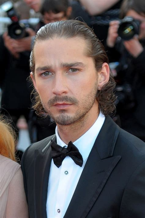 Shia Lebeouf Makes Out With Mop Thingy by Shia Labeouf Guys With Bad Hair Zimbio