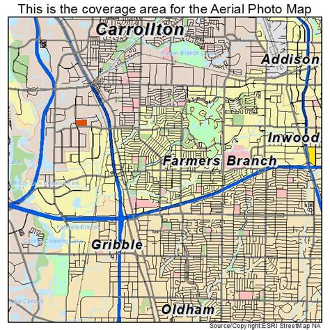 map of farmers branch texas aerial photography map of farmers branch tx texas