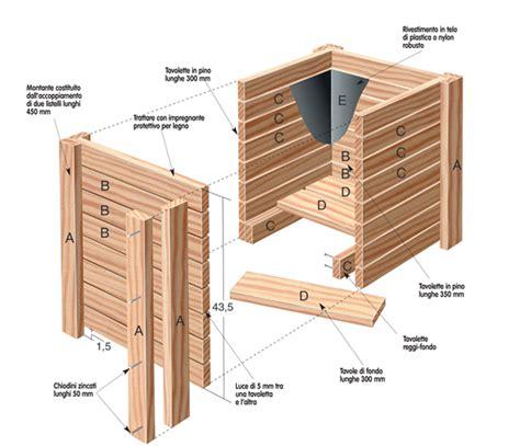 vasi in legno per esterno fioriere in legno fai da te veloci da realizzare