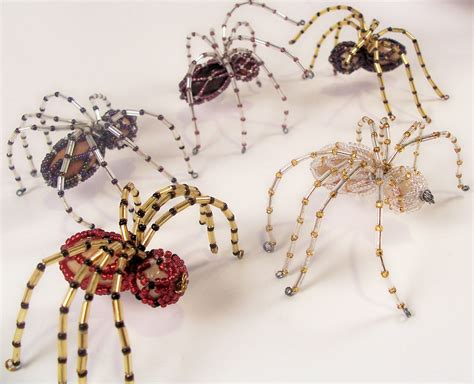 christmas spider pattern beading tutorial in pdf