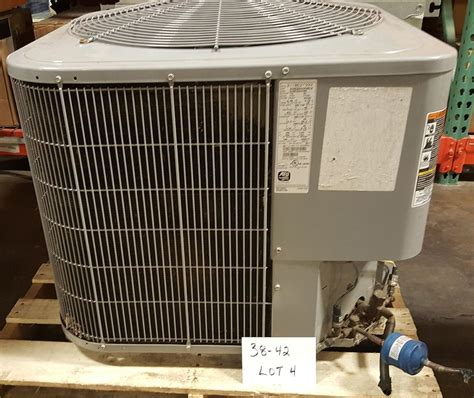 central comfort air conditioning lot 38 42 4 comfort 16 central air conditioner used