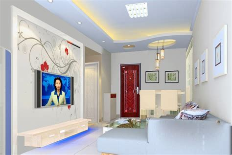 Simple Design Living Room by Simple Ceiling Living Room Villa Interior Design 3d 3d