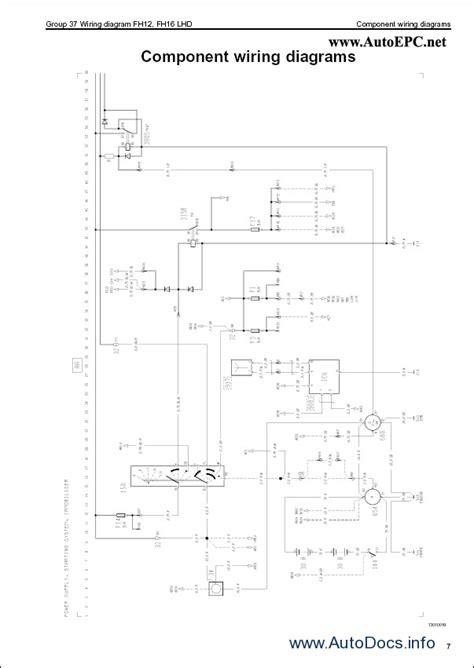 volvo fh12 fh16 wiring diagram repair manual order