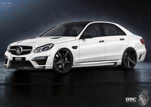 Mercedes Modified Mercedes E Class Facelift Modified By German Special