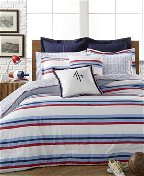 tommy hilfiger bedding outlet closeout tommy hilfiger edgartown stripe bedding collection bedding collections