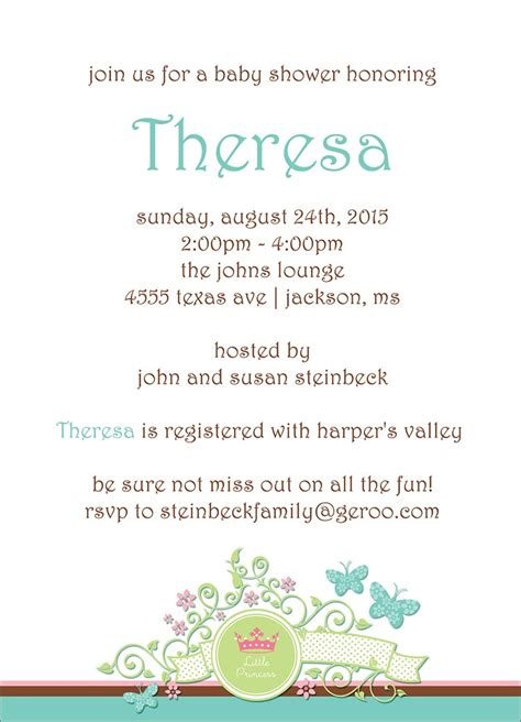 Christian Baby Shower Invitation Cards by Majesty Invitation Baby Shower Greeting Cards By