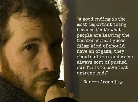 film quotes by famous directors darren aronofsky quotes quotesgram