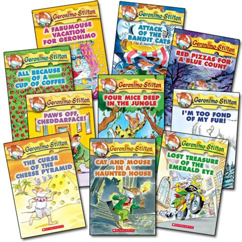Large Popup Book Series geronimo stilton book series