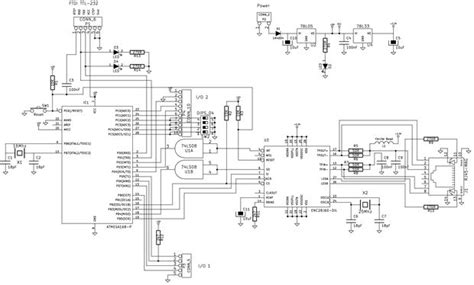 ethernet schematic diagram a credit card sized ethernet arduino compatable controller