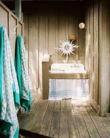 Beach rustic bathroom an outdoor sink details brown green beach rustic