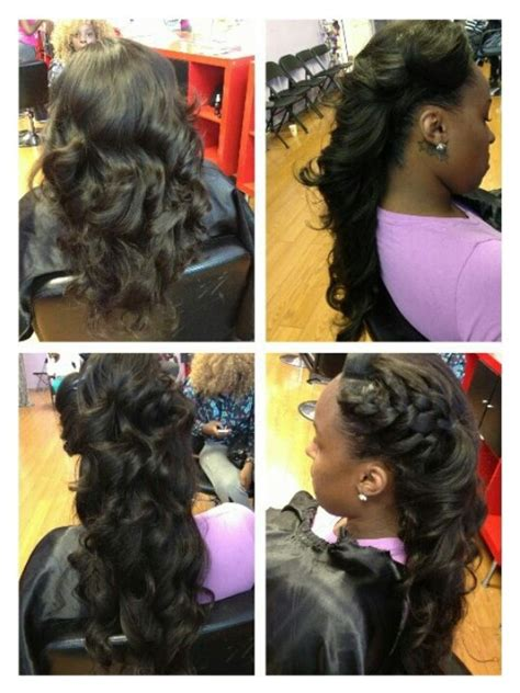 universal sew in weave never ending braid updo prom pinned up sew in styles for prom pictures on prom sew in