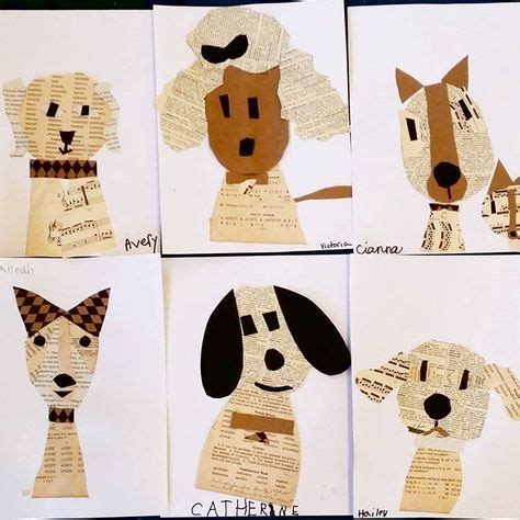 How To Make Animals Out Of Construction Paper - die besten 17 ideen zu zeitungscollage auf