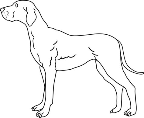 black and white coloring pages of dogs clipart black and white free clipartfest