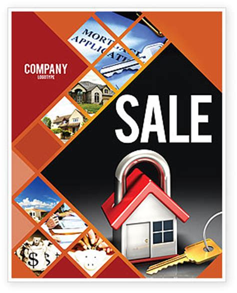 house for sale poster template turnkey house sale poster template in microsoft word