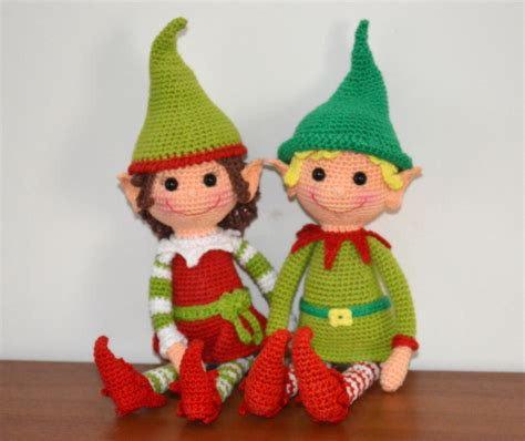 Pattern For A Christmas Elf | christmas elves pattern amigurumibb s blog